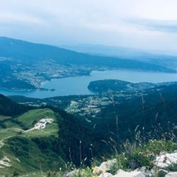 du haut de la tournette Annecy