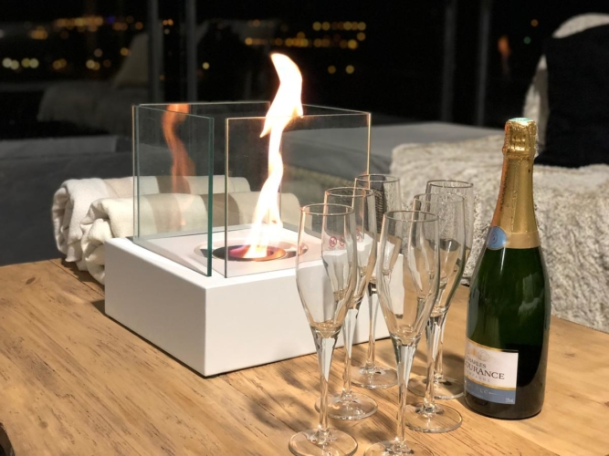 champagne offert