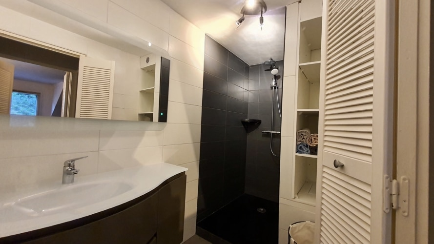 douche italienne pour le duplex