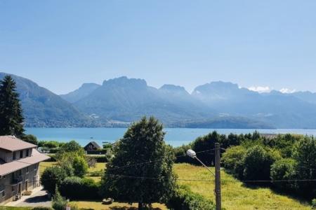 vue lac et montagne annecy