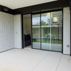 Terrasse rdc studio annecy