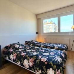 chambre lits simples entrée