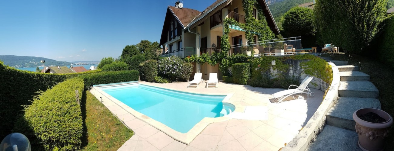 piscine escalier sur terrasse