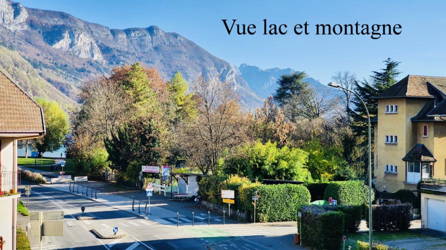 appartement avec vue lac et montagne