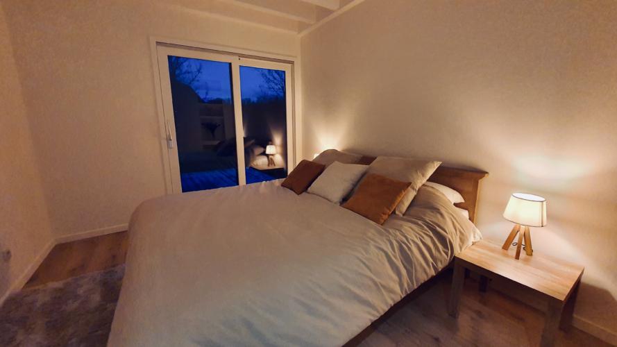 Chambre du bas lit double