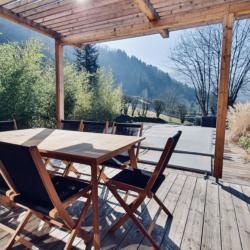 Table terrasse pour 8 personnes
