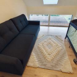 chambre du haut canapé lit