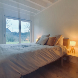 master room vue sur baie vitree