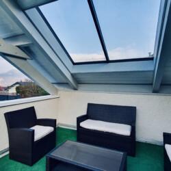 terrasse maison sevrier